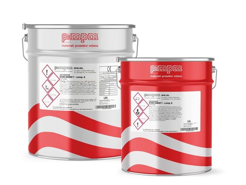 Resina epossidica fluida formulata per il ripristino STARCEMENT 7 by MPM