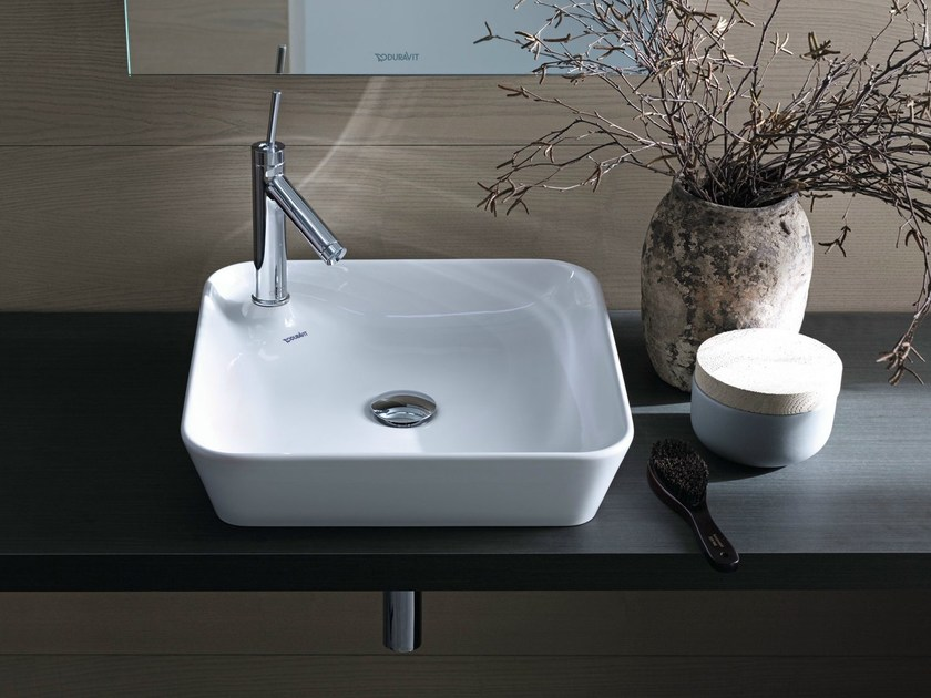 Countertop ceramic washbasin STARCK 1 | Countertop washbasin Starck ...