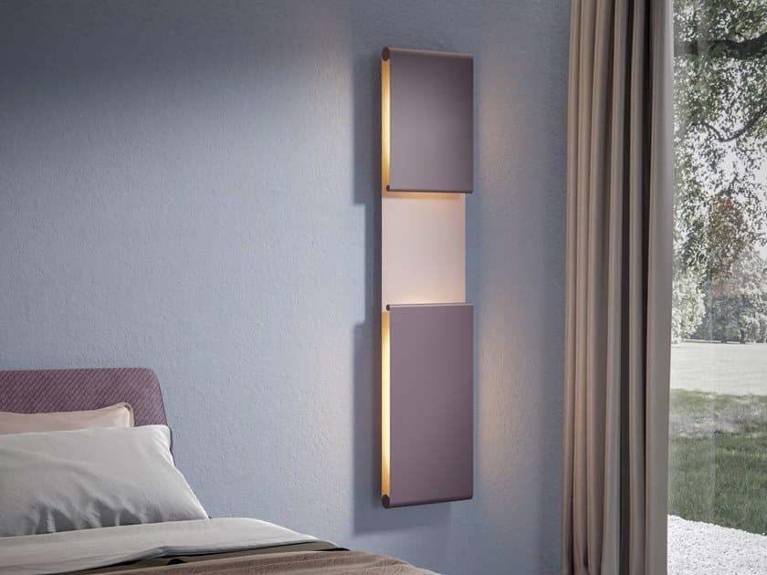 Termoarredo idraulico o elettrico con illuminazione a LED STARLIGHT by SCIROCCO H