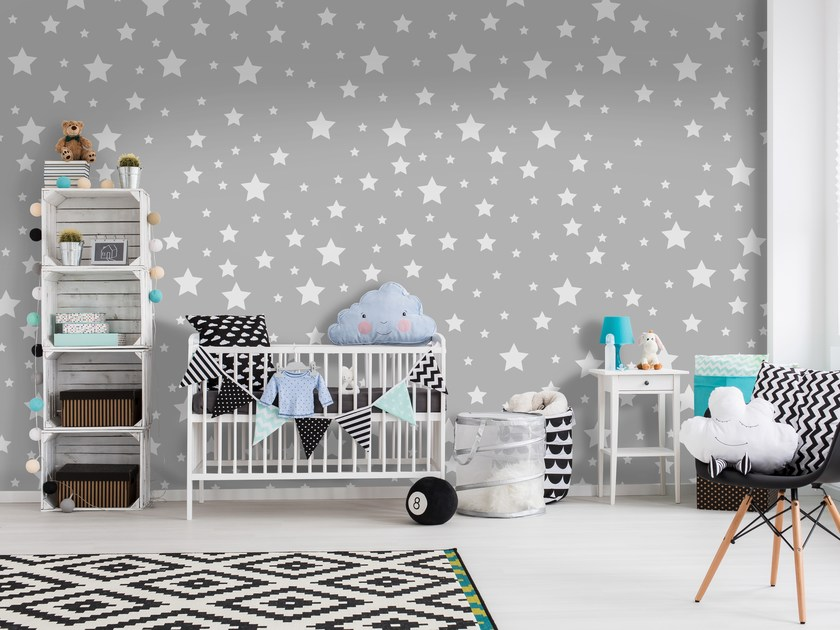 Adhesive washable wallpaper STARS by Wall LCA