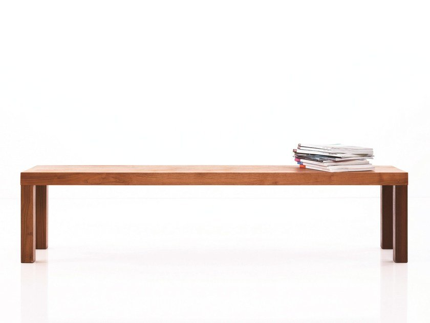 Wooden bench STATO | Wooden bench by more