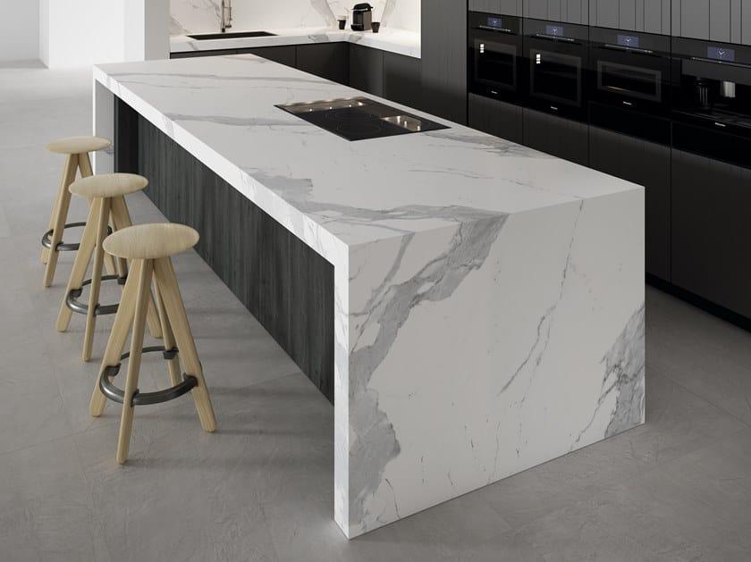 Kitchen worktop / Table Top STATUARIO EXTRA WHITE by APAVISA