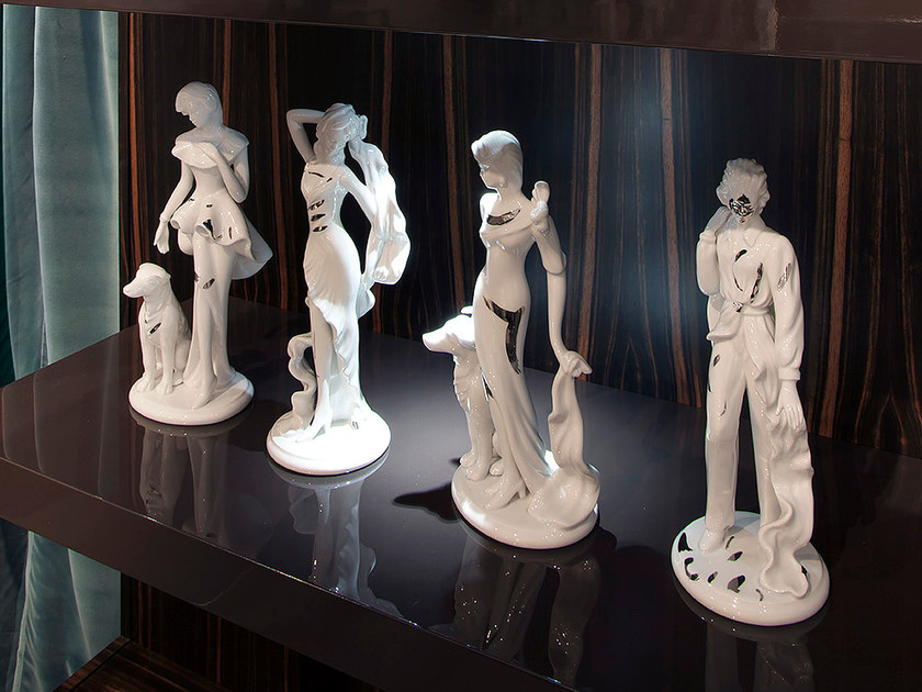 Ceramic decorative object STATUINE by ERBA ITALIA