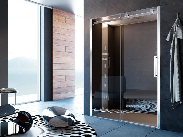 Multifunction shower cabin NOOR STEAM-S by Glass1989