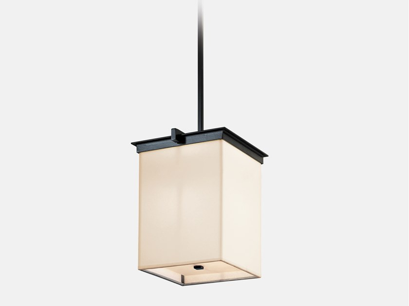 Direct light paper pendant lamp STEEG by Kevin Reilly Collection