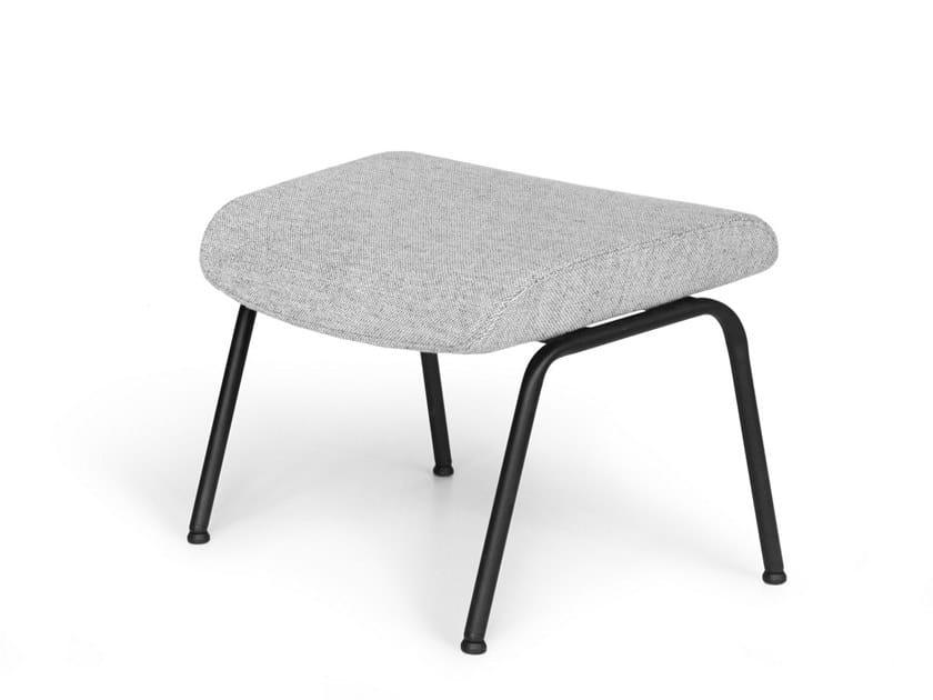 Steel footstool VOOG | Steel footstool by OOT OOT