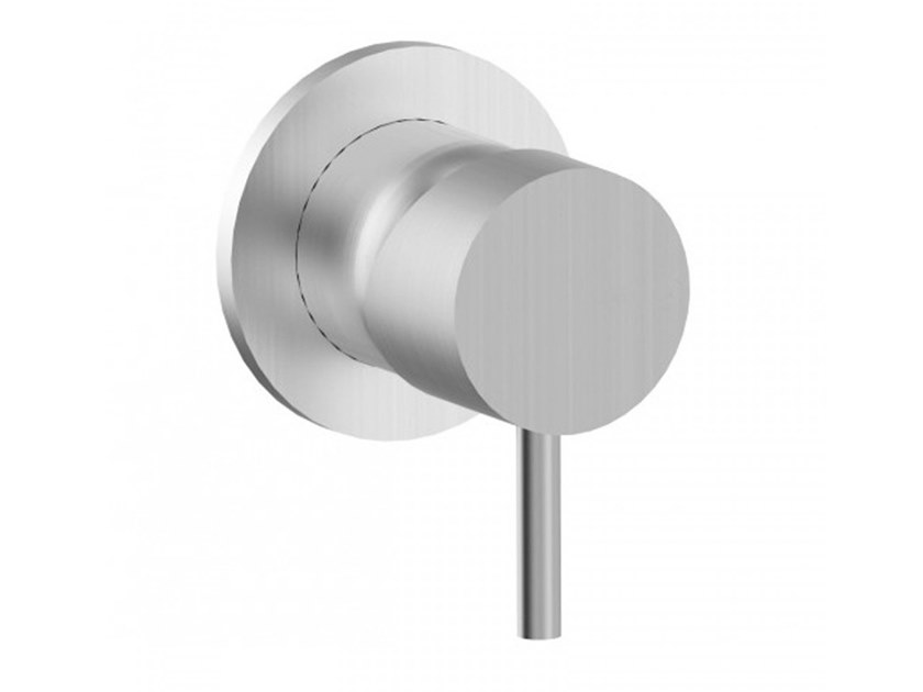 Recessed stainless steel shower mixer STEEL   Shower mixer by BIANCHI RUBINETTERIE