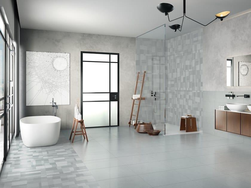 Pavimento in gres porcellanato STEELISTIC GINZA by La Fabbrica