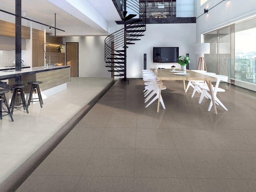 Pavimento in gres porcellanato STEELISTIC MAYFAIR by La Fabbrica
