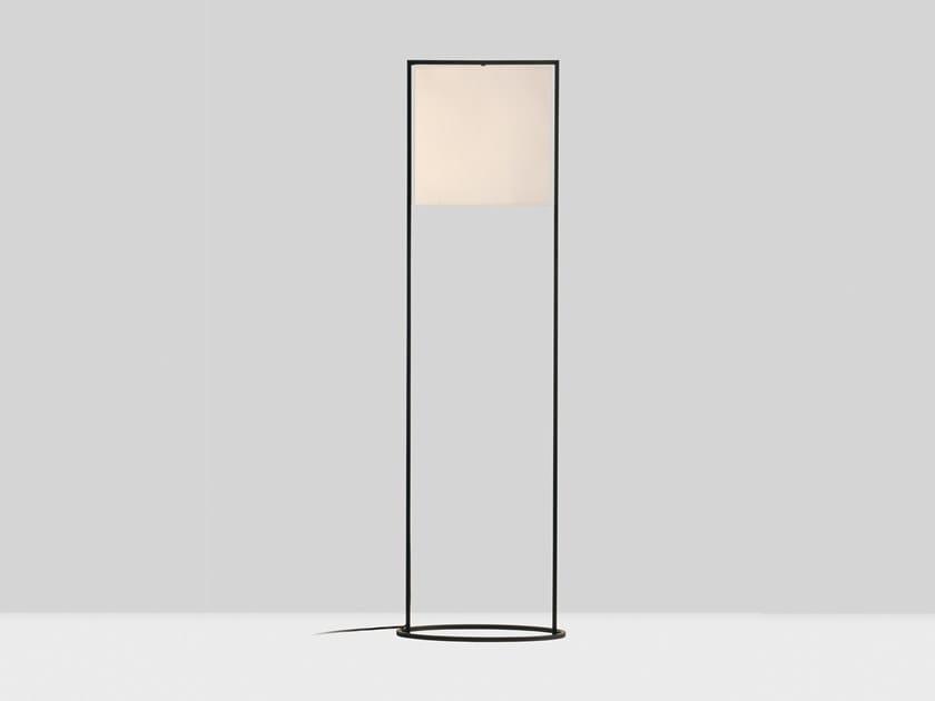 Direct light steel floor lamp STEEMAN | Floor lamp by Kevin Reilly Collection