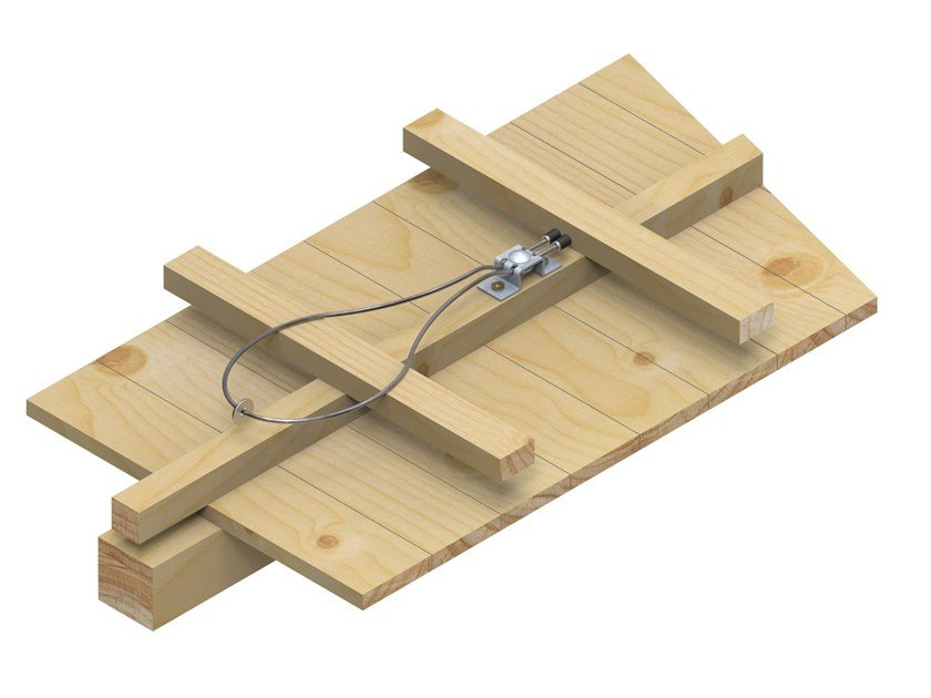Ancoraggio singolo per tetti inclinati EAP-203-SLING-10 by INNOTECH®