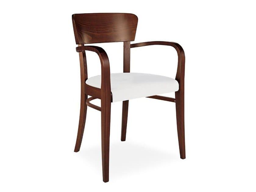 Sedie In Legno Con Braccioli : Sedia in legno con braccioli steffy collezione steffy by