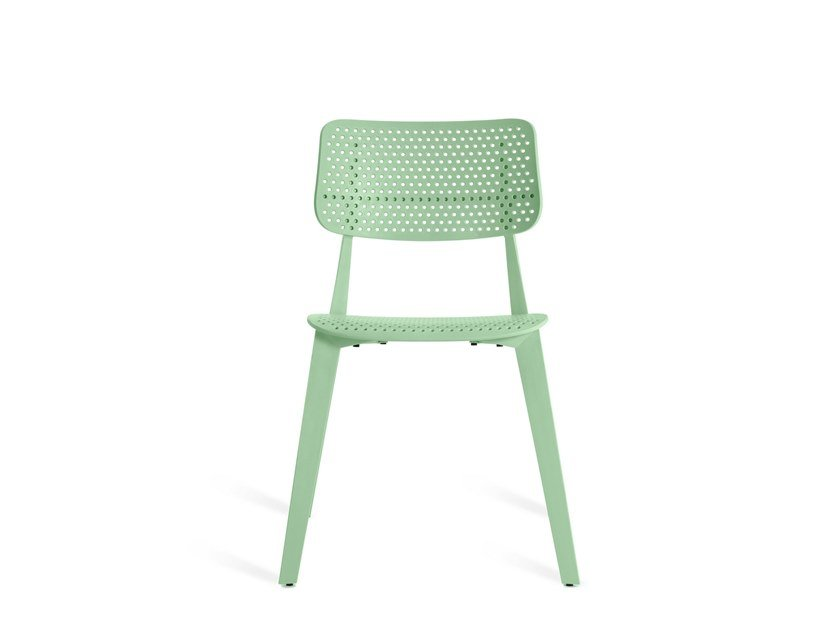 Stackable chair STELLAR HOLES | Stackable chair by TOOU