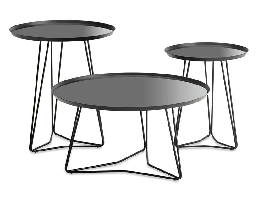 Round coffee table STELLATO by JORI