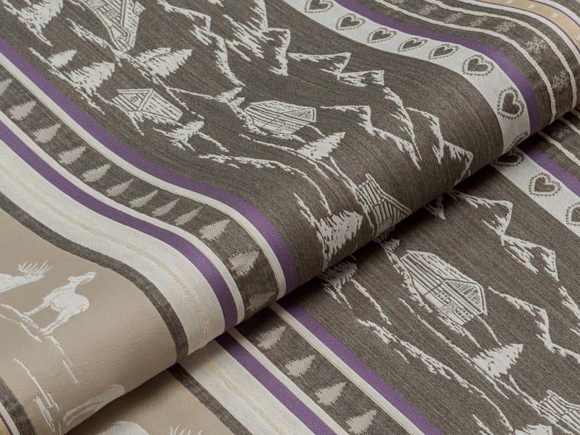 Fire retardant upholstery fabric STELVIO STRIPE 2 by PRIMA