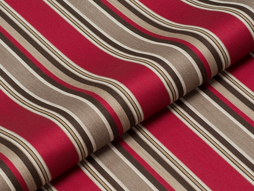 Fire retardant upholstery fabric STELVIO STRIPE 3 by PRIMA