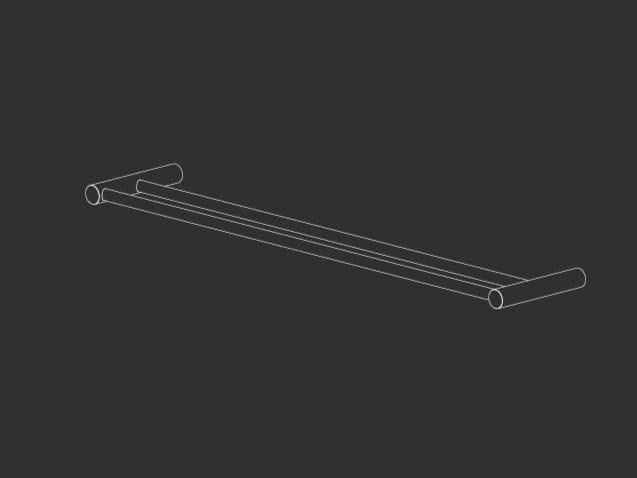 Stainless steel towel rail STEM 22 by Ceadesign