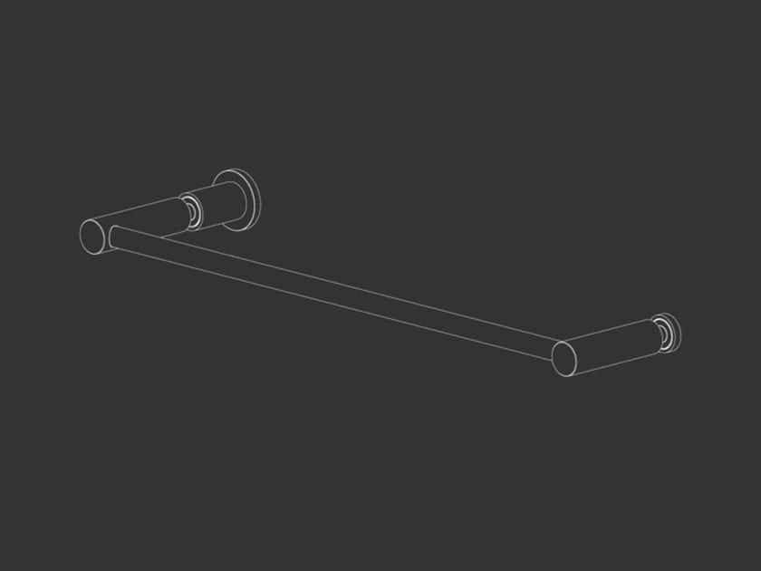 Maniglia per box doccia in acciaio inox con pomolo STEM 33 by Ceadesign