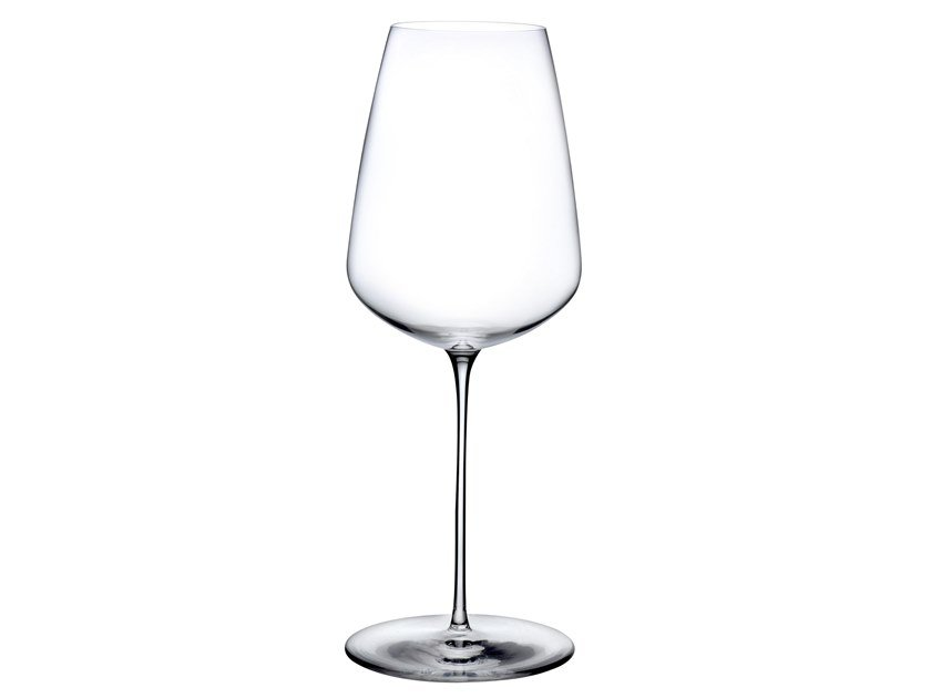 Crystal wine glass STEM ZERO DELICATE by NUDE