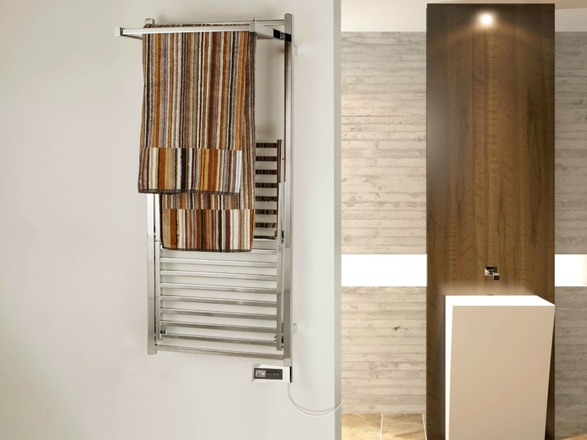 Swivel electric towel warmer STENDY ELEGANCE ELECTRIC PLUS by DELTACALOR