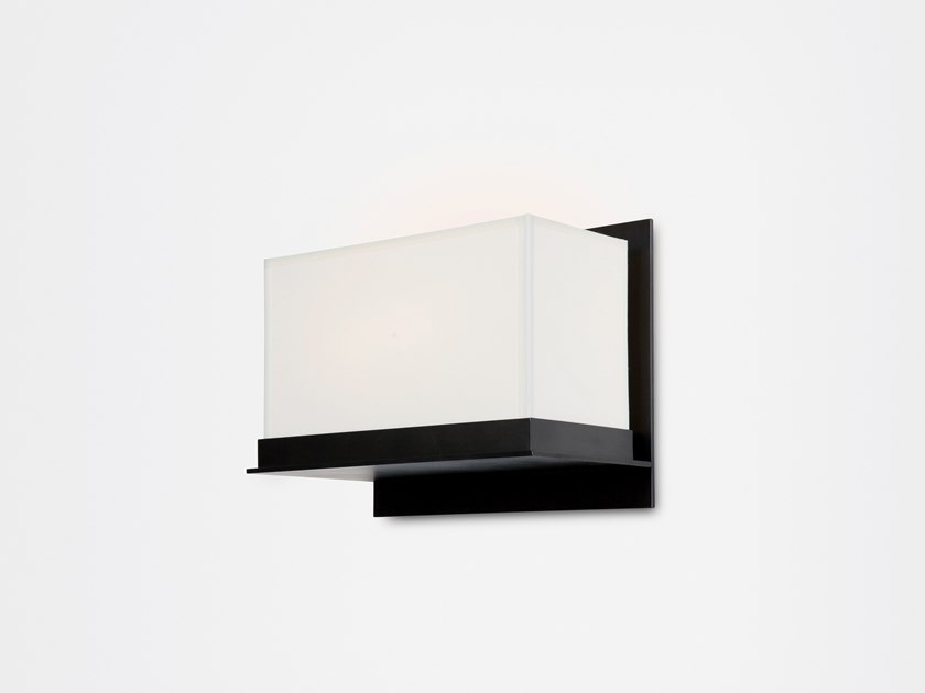 Direct light paper wall light STEPPE by Kevin Reilly Collection