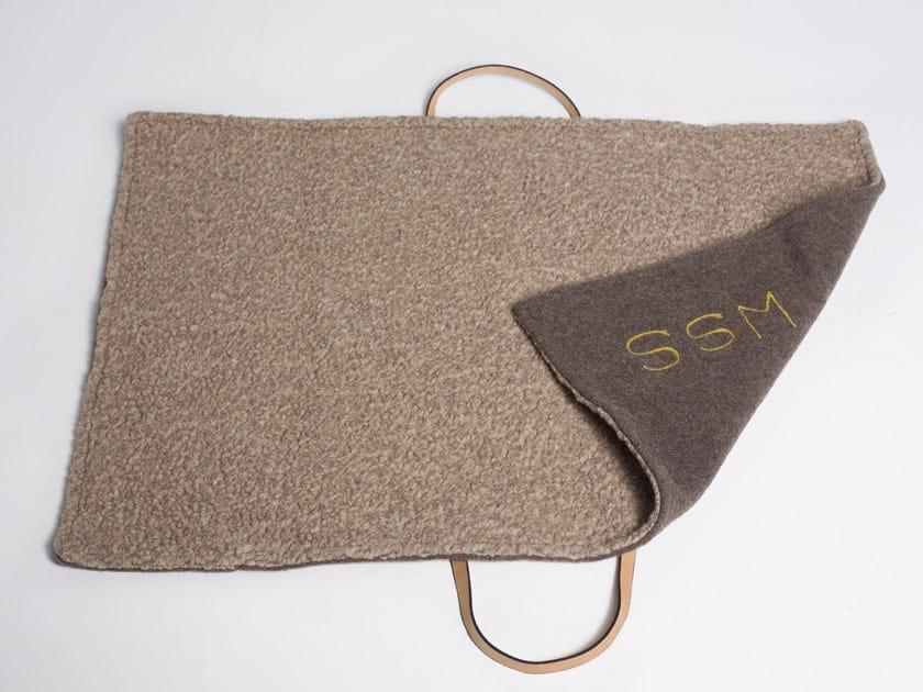 Military wool pet travel mat STEVE   Wool pet object by 2.8 duepuntoOtto