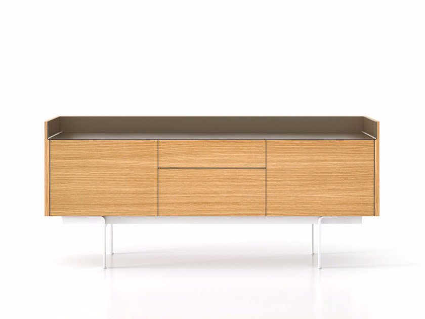 Wooden sideboard with drawers STH312 | Sideboard with doors by Punt