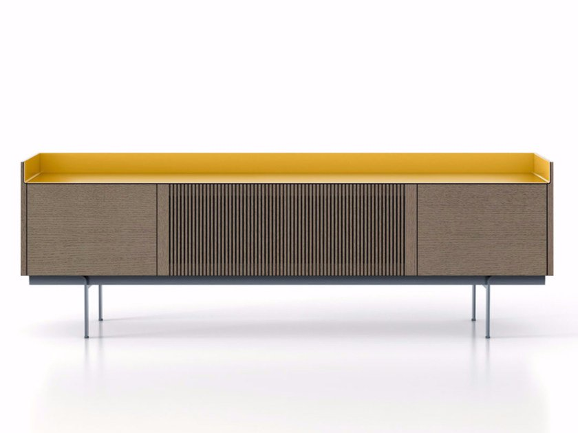 Wooden sideboard with doors STH413 | Wooden sideboard by Punt