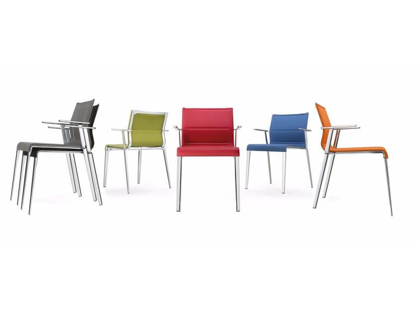 In Icf Rete Braccioli Impilabile Stick Chair QuattroSedia Atk Con 1TFKlJc