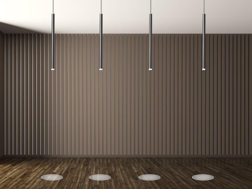 LED aluminium pendant lamp STICK by SP Light and Design