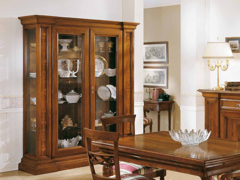 Solid wood display cabinet STILE | Display cabinet by Arvestyle