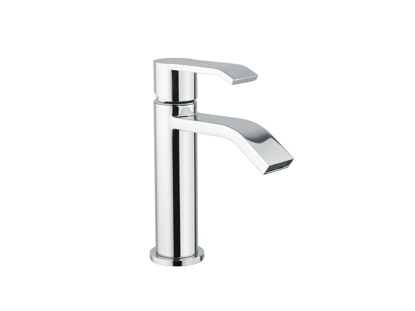 Single handle washbasin mixer without waste STILE by Armando Vicario