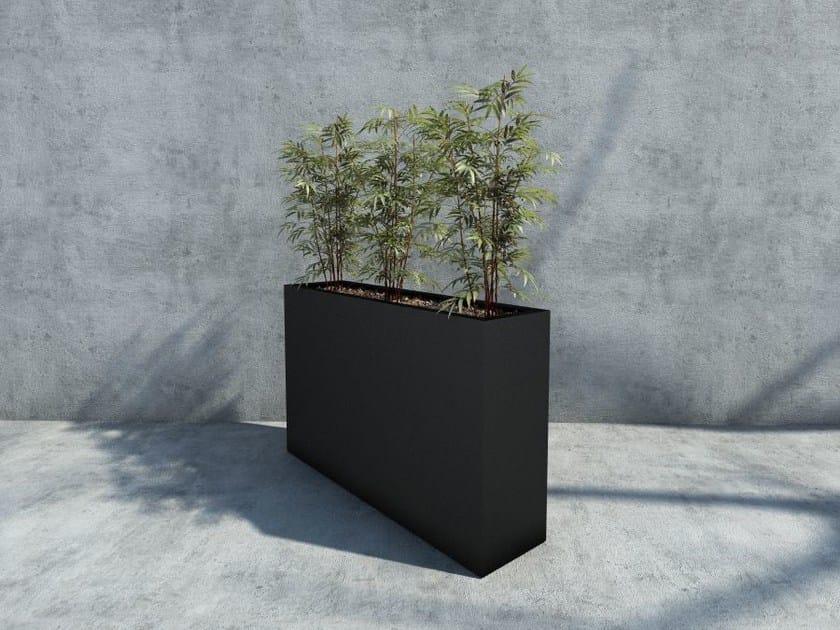 High iron Flower pot STILL 227 by SIT