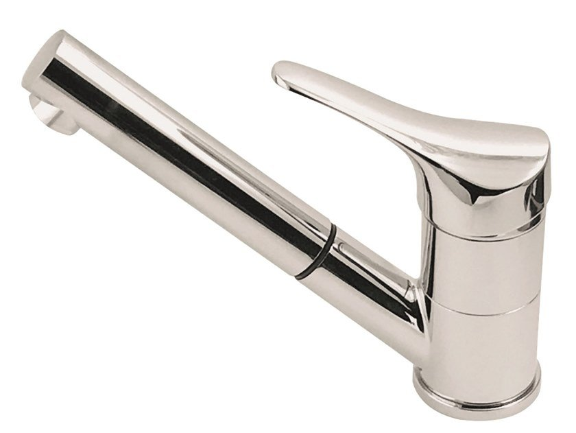 Single handle brass kitchen mixer tap with swivel spout STING | Kitchen mixer tap by I Crolla Rubinetterie