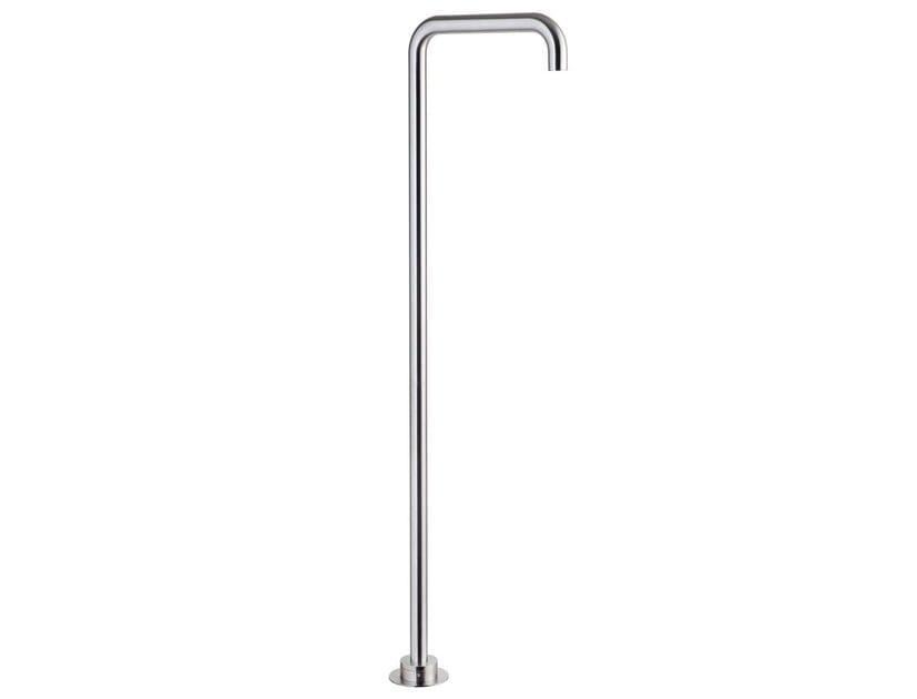 Floor standing stainless steel washbasin mixer STIRIANA 6328T by MINA