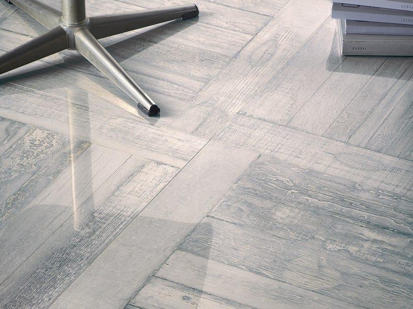 Pavimento in gres porcellanato effetto legno STIRLING EDINBURGH by La Fabbrica