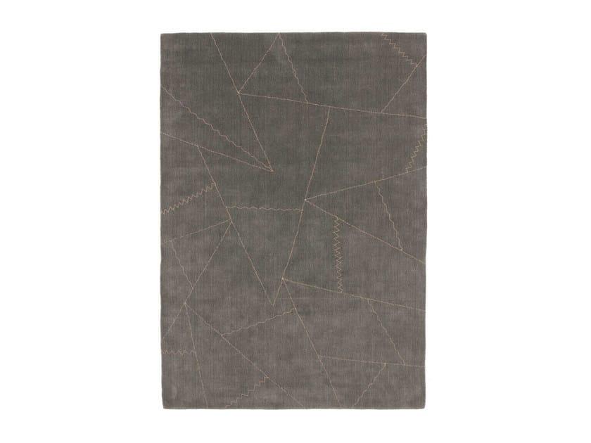 Handmade custom rug STITCH by cc-tapis