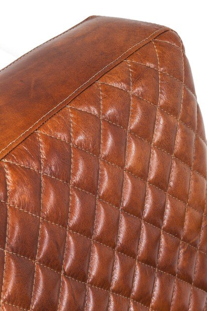 Kare design Sbalzo Braccioli Pelle Stitch Poltrona Con In A 80OvnmNw