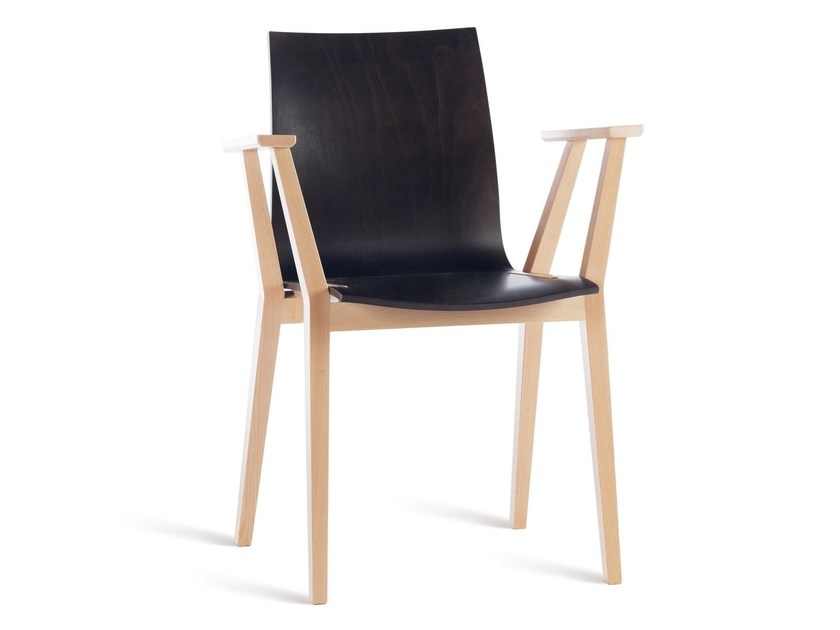 Chair with armrests STOCKHOLM | Chair with armrests by TON