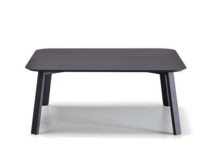 Low Square Wooden Coffee Table STOCKHOLM   Square Coffee Table By Punt