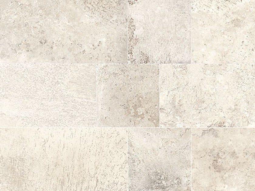 Full-body porcelain stoneware wall tiles / flooring STONE AGE Chianca by Italgraniti