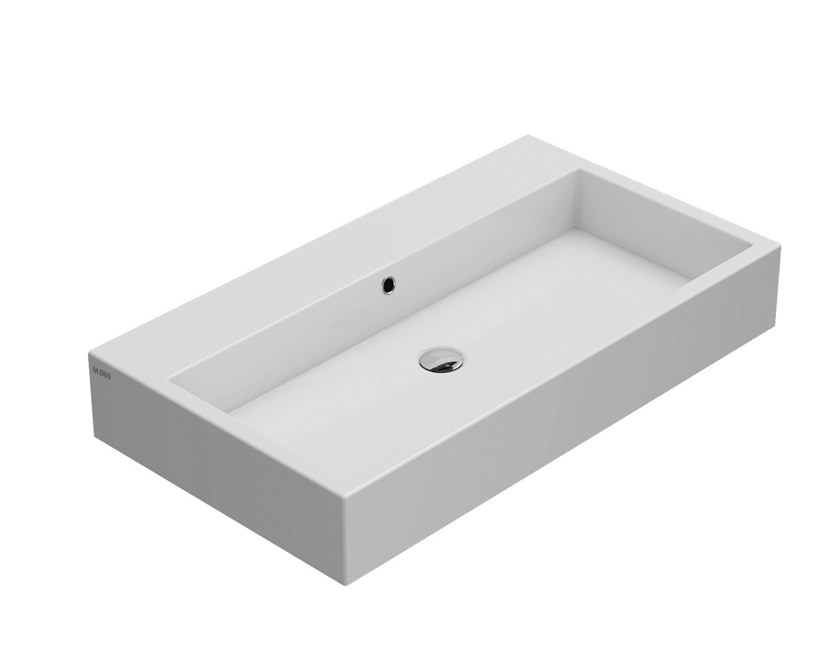 Ceramica Globo Serie Stone.Genesis Countertop Washbasin Genesis Collection By Ceramica Globo