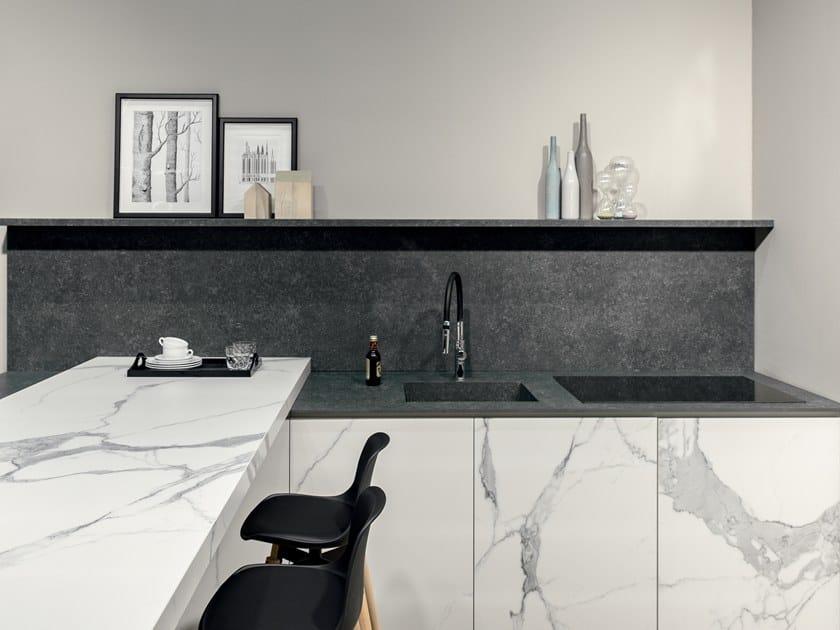 Küchenarbeitsplatte aus feinsteinzeug stone by florim stone
