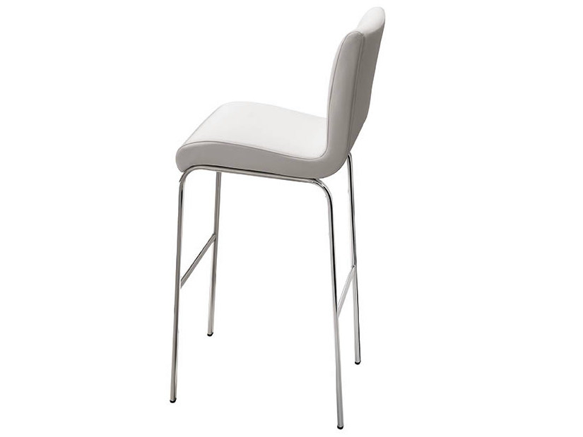 High upholstered barstool STONE | High stool by Midj