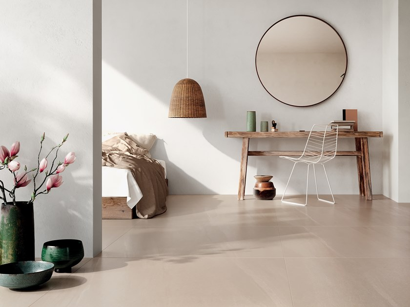 Indoor/outdoor wall/floor tiles with stone effect STONE ICONS MOCA by CERAMICA FONDOVALLE