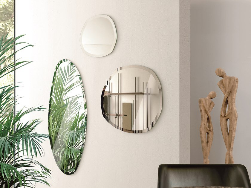 Wall-mounted mirror STONE by Pacini & Cappellini