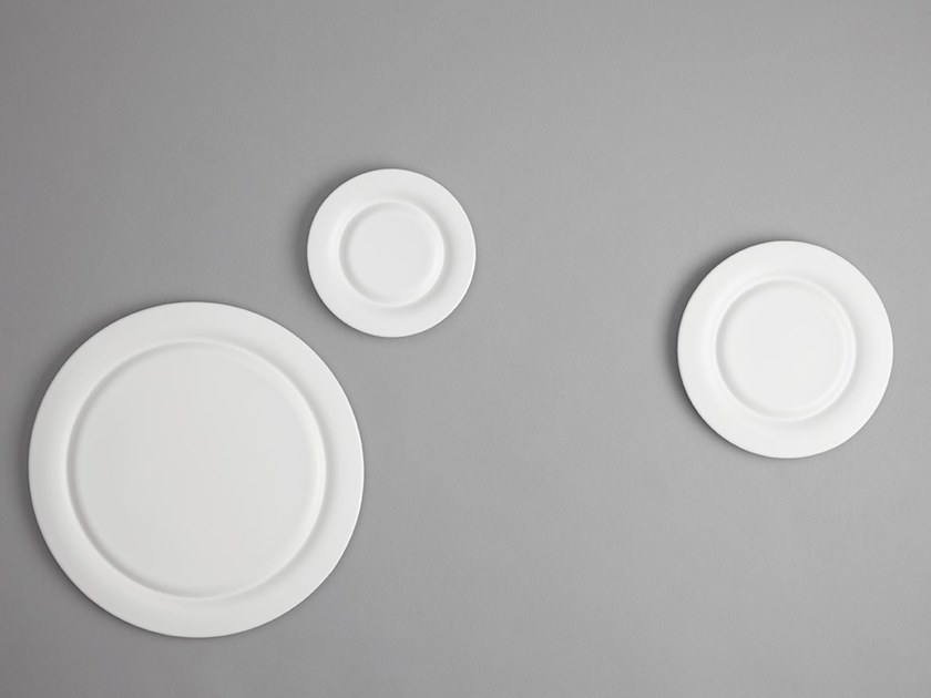 Porcelain dinner plate STONE | Dinner plate by ZENS Lifestyle