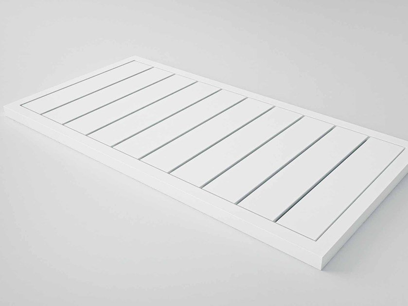 Slatted rectangular Stonelight shower tray KAI | Shower tray by Flora Style