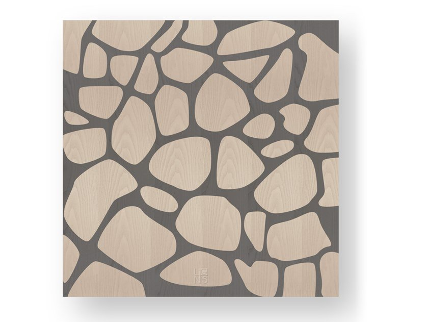 Wooden Decorative panel STONES COLD by LIGNIS®
