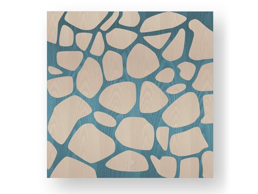 Quadro in legno intarsiato o stuccato STONES COLORS by LIGNIS®